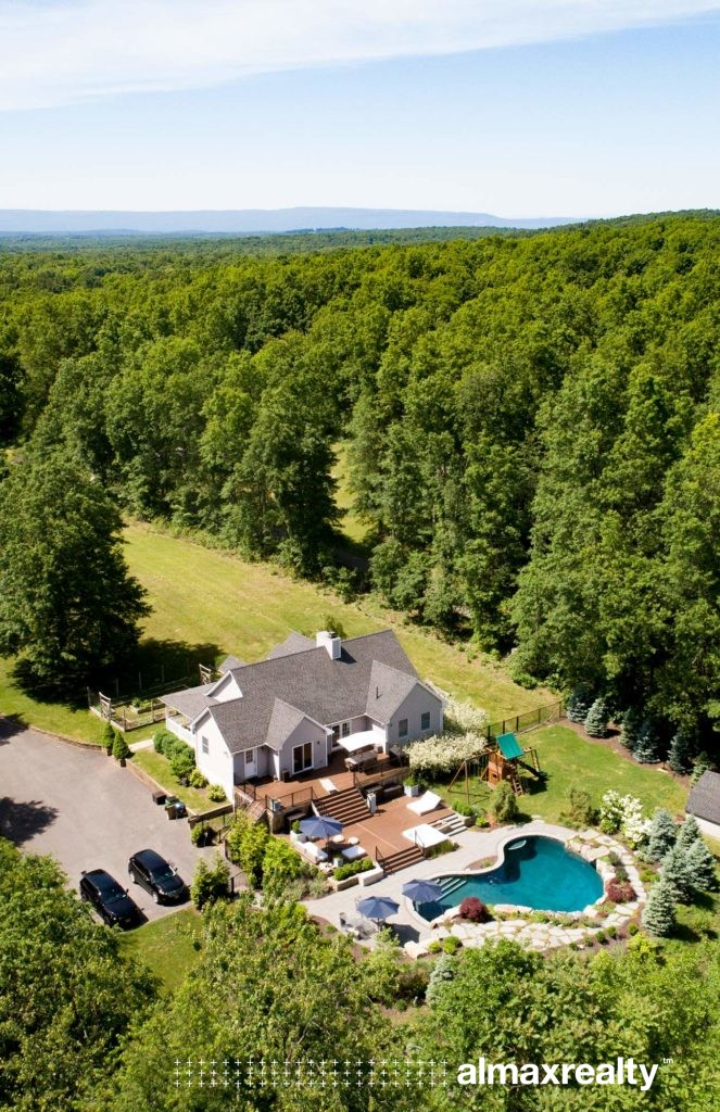 Luxury Hudson Valley Home with a Pool and Organic Garden for Sale - Rock Tavern, NY - Almax Realty