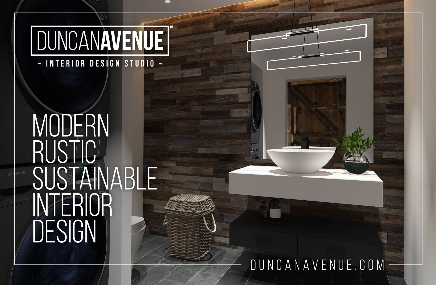 Duncan Avenue Interior Design Studio - Sustainable Modern Rustic Interior Design in the Hudson Valley