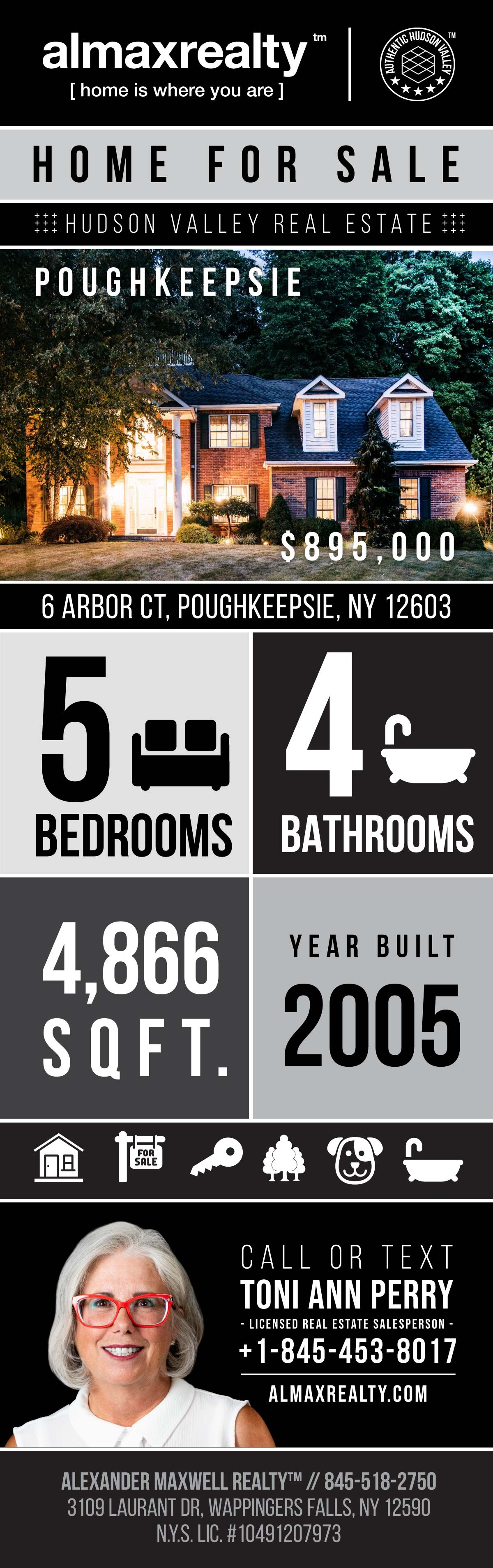 Infographic – Home for Sale in Hudson Valley NY