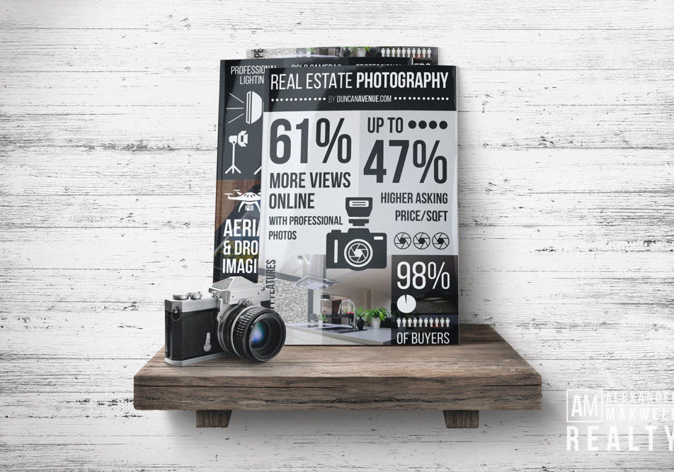 Infographic: Real Estate Photography 101 by Duncan Avenue Marketing and Design Studio